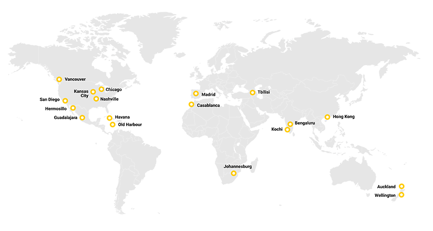 Where in the world is GoSkills.