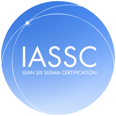 IASSC logo lean six sigma certification