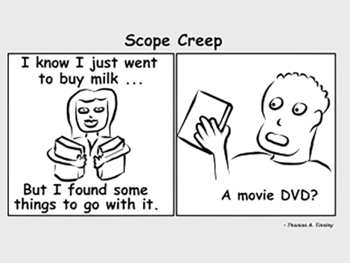 scope creep funny