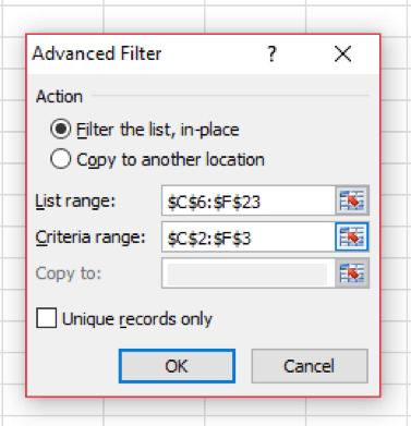 Excel VBA - Advanced Filtering Tutorial | GoSkills