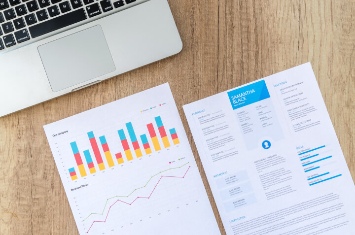 resume with statistics