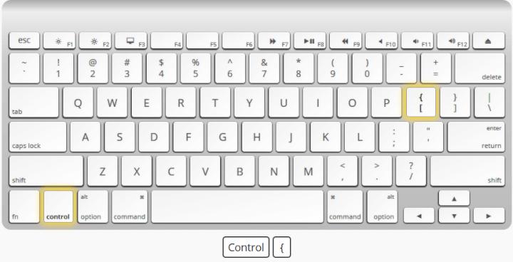 Select direct precedents Mac