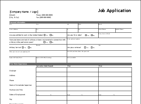 job-application-template