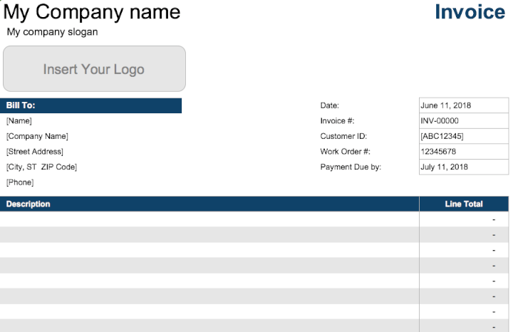 service-invoice-template