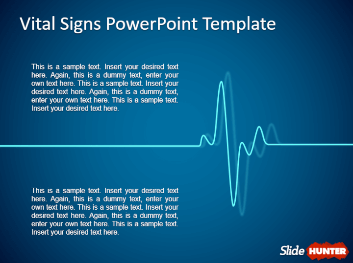 Vital signs PowerPoint template