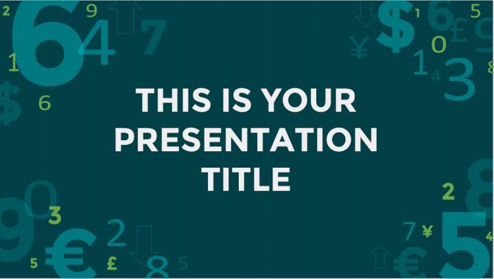 Finance PowerPoint template