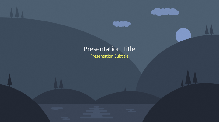 62 best free powerpoint templates 2018 goskills dark nature powerpoint template maxwellsz