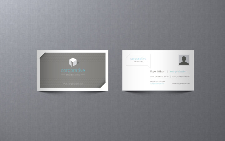 21 free illustrator business card templates goskills grey and white business card template wajeb