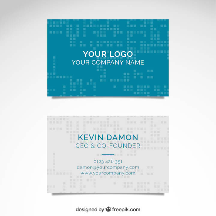 free-business-card-template-tech