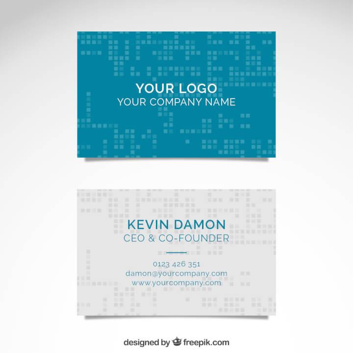 21 free illustrator business card templates  goskills