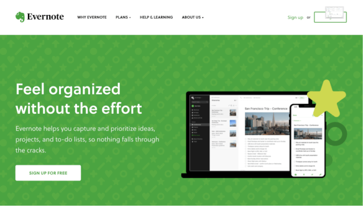 best-tools-for-freelancers-evernote