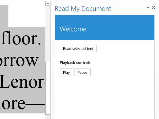 Microsoft-Word-add-ins-read-my-document