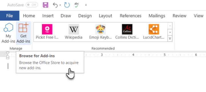 Microsoft-Word-add-ins-browse