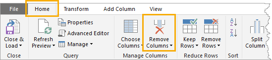 Power-Query-tips-remove-columns