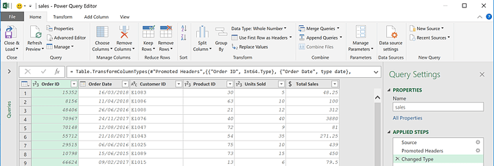 how-to-use-powerpivot-powerquery-editor