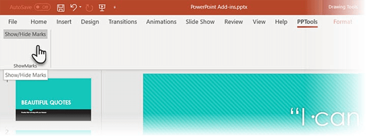 powerpoint-add-ins-show-marks