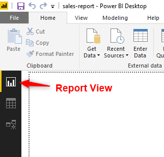 Power-BI-pie-chart-report-view