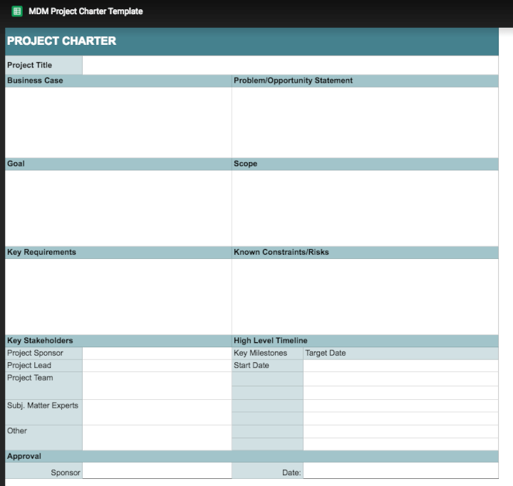 Project-management-template-Google-Sheets-charter