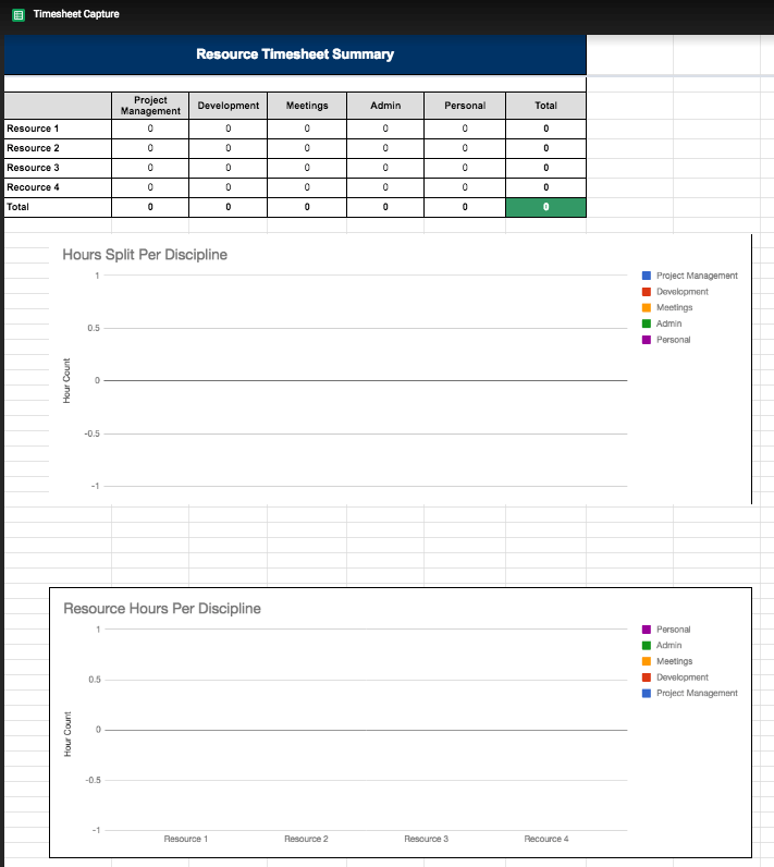 Project-management-template-Google-Sheets-timesheet
