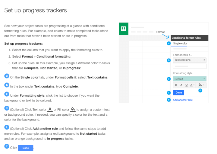 Project-management-template-Google-Sheets-progress-trackers