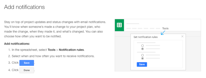 Project-management-template-Google-Sheets-add-notifications