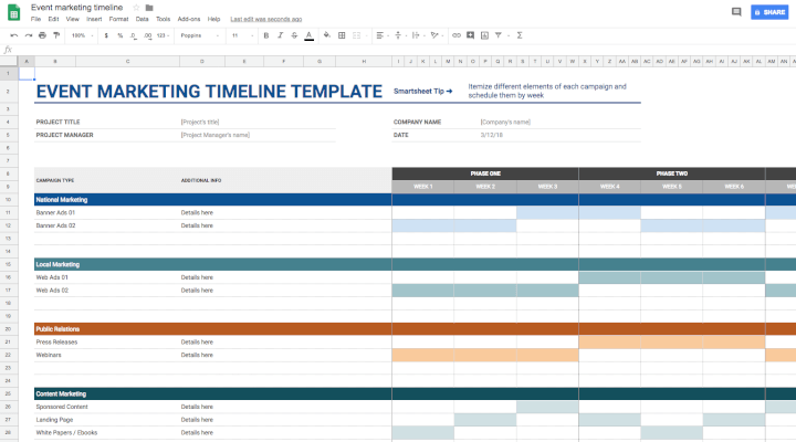 Project-management-template-Google-Sheets-event-marketing