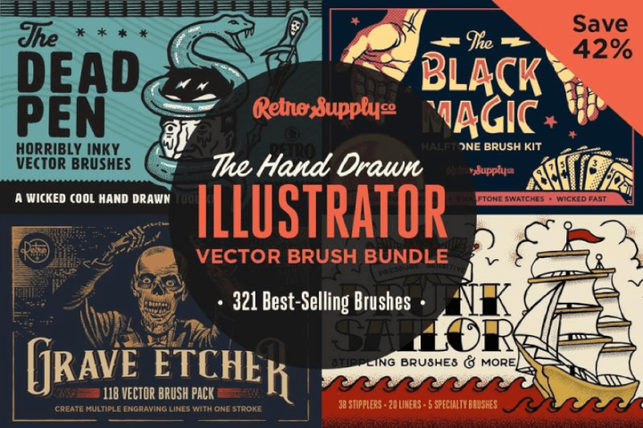 20 Best Free & Paid Illustrator Brushes for Stunning Vector Art