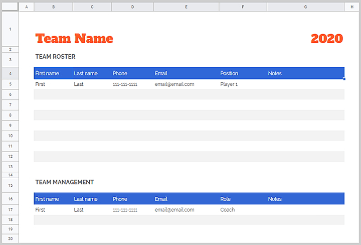 Free-project-management-templates