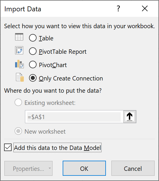Power-Query-import-data