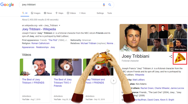 google-friends-best-easter-eggs