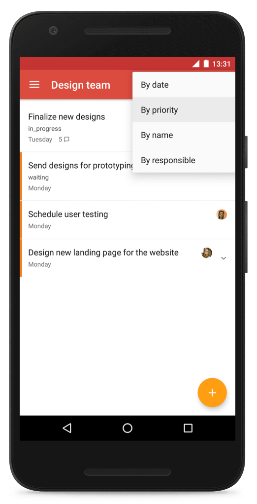 todoist mobile - remote work tools
