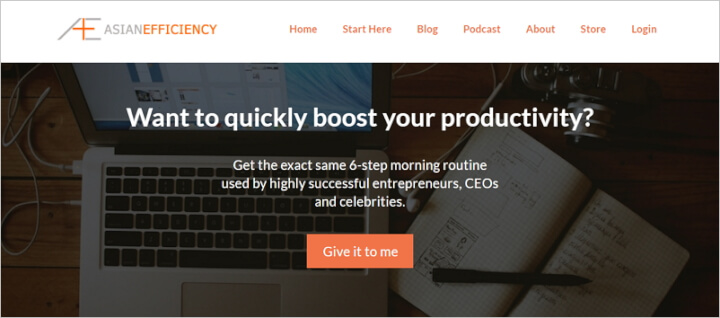 ​Best Productivity Blogs - Asian Efficiency