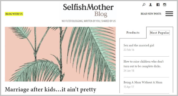 ​Best Productivity Blogs - Selfish Mother