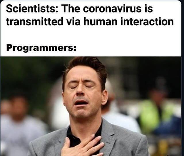 programmers human interaction meme
