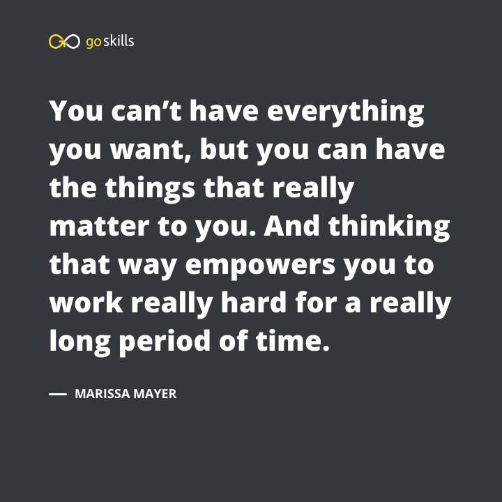 You can't have everything you want, but you can have the things that really matter to you.