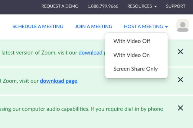 host zoom meeting