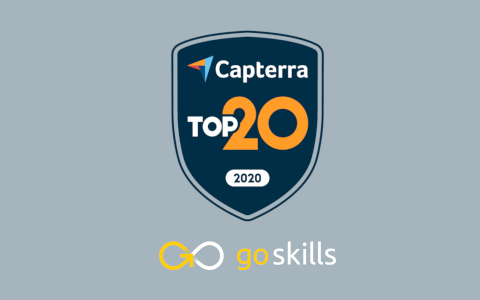 GoSkills Named in Capterra's Top 20 Most Popular LMS Software