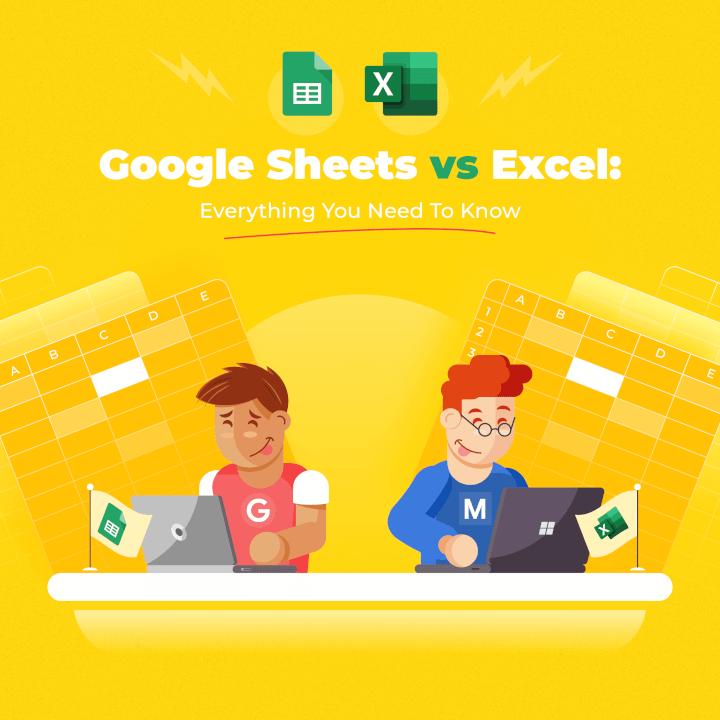 google sheets vs excel - goskills