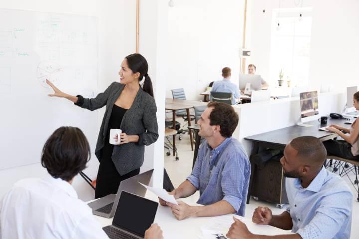 business team upskilling
