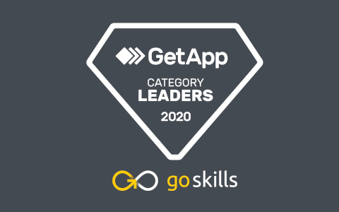 GoSkills named by GetApp as Category Leader for LMS Software