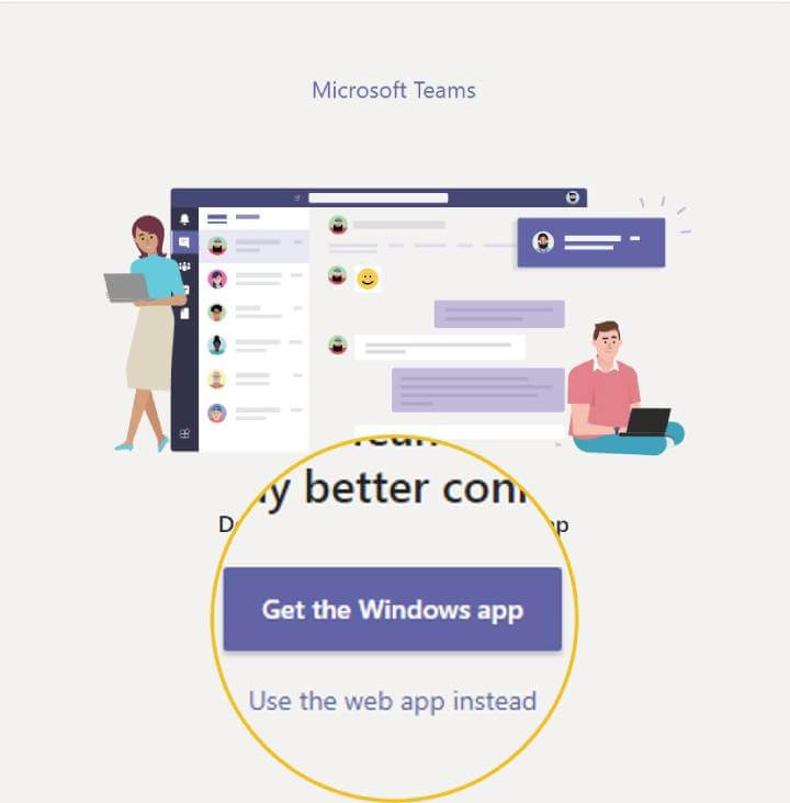 Microsoft Teams web browser or client choice