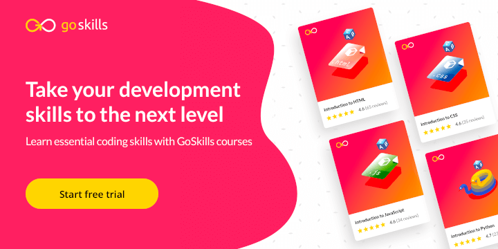 GoSkills development courses