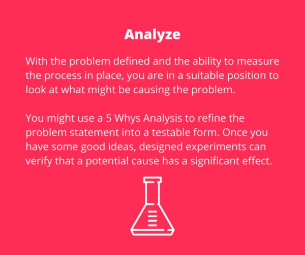 DMAIC - Analyze