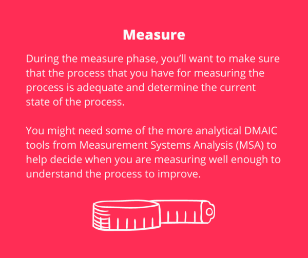 DMAIC - Measure