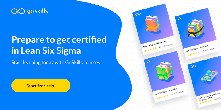 GoSkills Lean Six Sigma courses