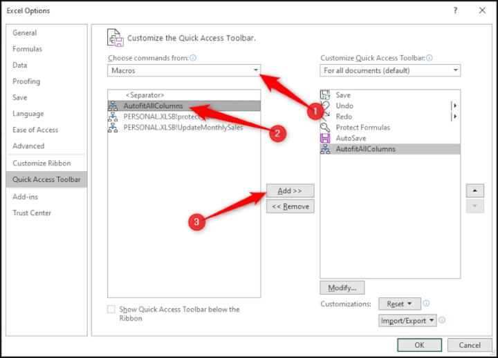 VBA Code Library - Add Macro Button