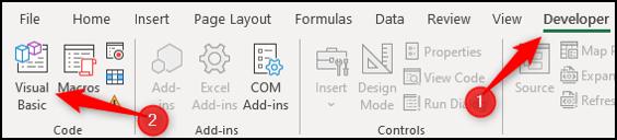 VBA Code Library - Visual Basic Editor