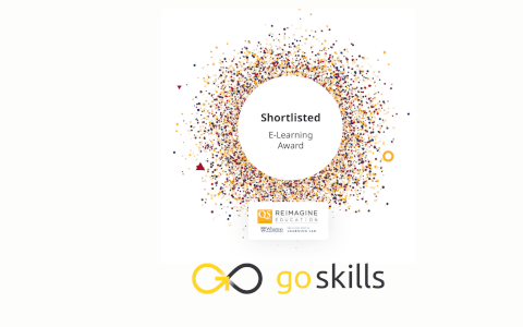 GoSkills Shortlisted for Reimagine Education's E-Learning Award