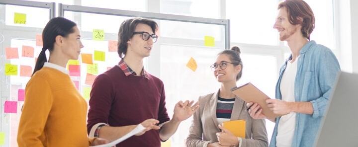 Soft skills training - team meeting