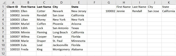 Vlookup Exact and Approximate match